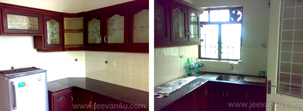 cochin flat furnished kitchen